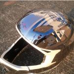 ヘルメットハーフミラー