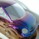 PET樹脂グラデーションカラーハーフミラー